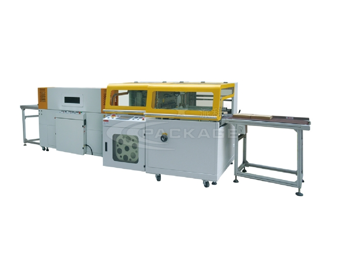 PKE-5025S+-SF-5030L-High Speed Side Sealing Shrink Packaging Machine